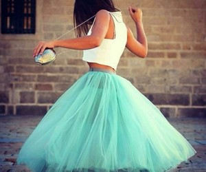 dress, style, and light blue image