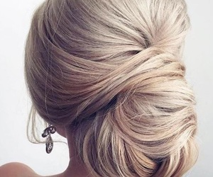 bun, hairstyles, and hair colors image