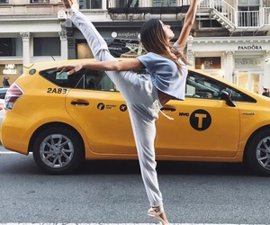 ballet, new york, and taxi image