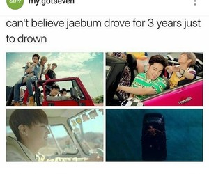 3, car, and drown image