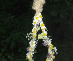 flowers and suicide image