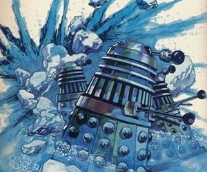 blue, Dalek, and doctor who image