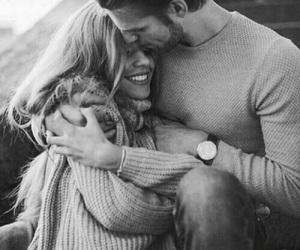 b&w, hug, and Relationship image