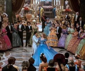 cinderella, dancing, and medieval image