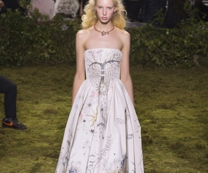 Christian Dior, gowns, and runway image