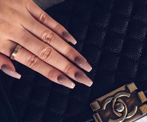 nails, bag, and chanel image