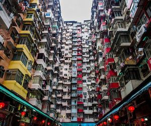 china, hong kong, and apartment complex image