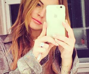 selfie, instagram, and lindsay lohan image
