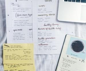 macbook, organization, and study image