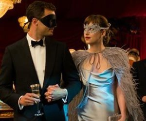 Jamie Dornan, dakota johnson, and fifty shades darker image