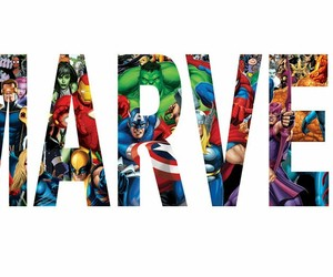 heroes, Marvel, and marvel logo image