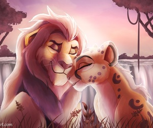 fanart, the lion king, and the lion guard image