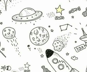 stars, wallpaper, and space image