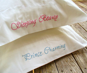 pillow, prince charming, and sleeping beauty image