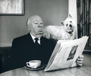 alfred hitchcock, Hitchcock, and dog image