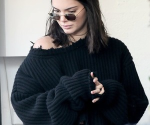 fashion, fishnet, and kendall jenner image
