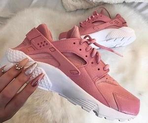 luxury, nike, and shoes image
