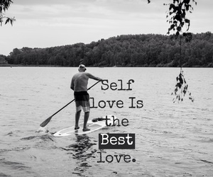 easel, self love, and love image