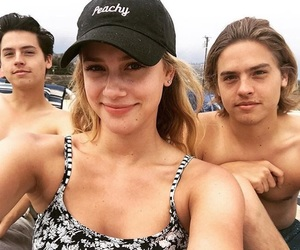 dylan sprouse, riverdale, and lili reinhart image