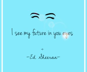 eyes, quote, and quotes image
