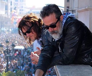 jdm, the walking dead, and negan image