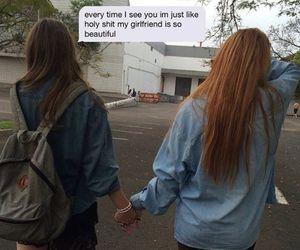 bi, lesbian, and love image