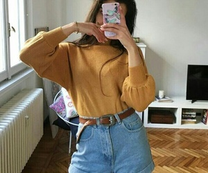 color, girl, and jeans image
