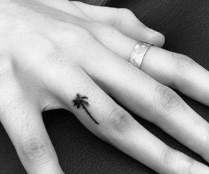 tattoo and palm image