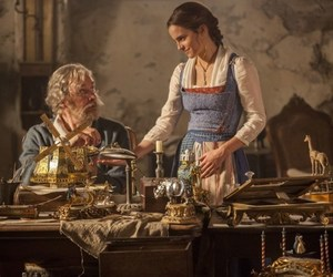 belle, emma watson, and beauty and the beast image