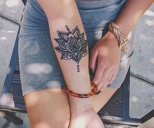 Tattoo Designs, tattoo ideas, and floral tattoos image