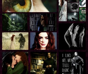 Collage, harry potter, and severus snape image