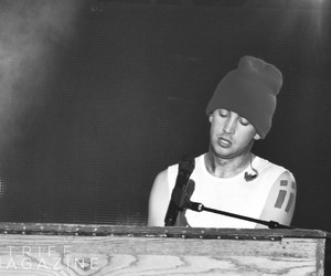 black and white, inspiration, and twenty one pilots image