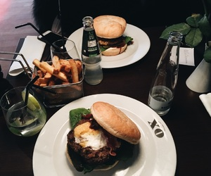 burger, fitness, and fint image