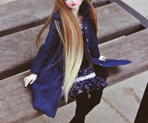 beauty, bjd, and doll image