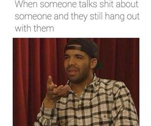 funny, fake, and Drake image