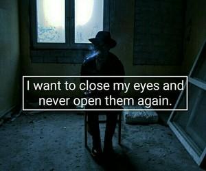 eyes and sad image