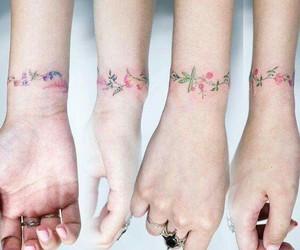 tattoo, flowers, and beautiful image