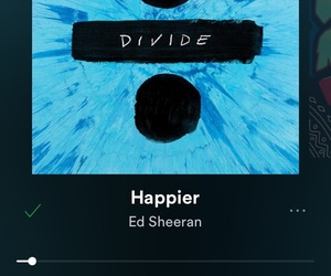 ed sheeran, divide, and spotify image