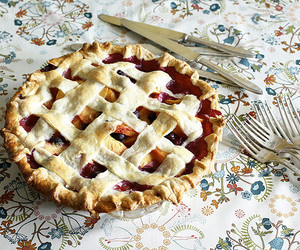 pie, food, and vintage image