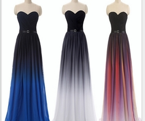 dress, evening dress, and formal image