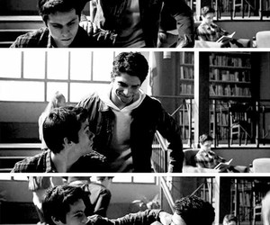 bromance, friendship, and teen wolf image