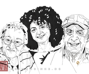 family, graphic, and portrait image