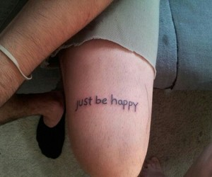 happy and Tattoos image