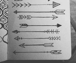 arrow, drawing, and art image