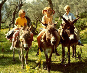 donkey, nature, and pippi image