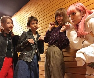 band, japan, and ladies image