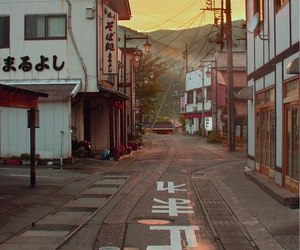 japan, street, and aesthetic image