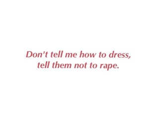 dress, quotes, and rape image