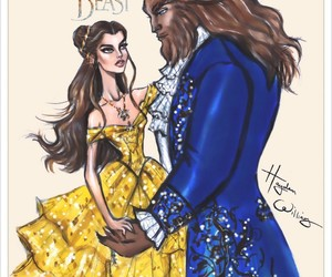 beauty and the beast, art, and hayden williams image