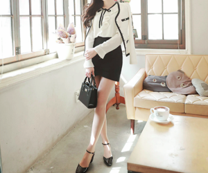 fashion, korean, and style image